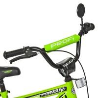Велосипед детский двухколесный PROFI T1472 Forward, 14 дюймов, салатовый