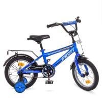 Велосипед детский двухколесный PROFI T1473 Forward, 14 дюймов, синий