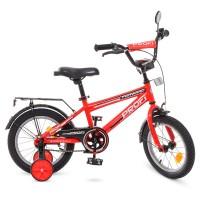 Велосипед детский двухколесный PROFI T1475 Forward, 14 дюймов, красный