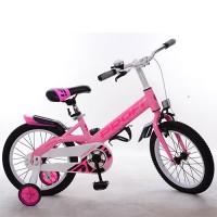 Велосипед детский двухколесный для девочек PROFI W14115-3 Original, 14 дюймов, розовый