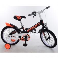 Велосипед детский двухколесный PROFI W14115-4 Original, 14 дюймов, черный