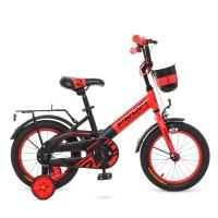 Велосипед детский двухколесный PROFI W14115-5 Original, 14 дюймов, красный
