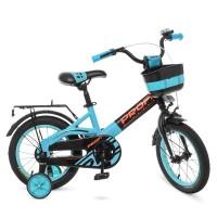 Велосипед детский двухколесный PROFI W14115-8 Original, 14 дюймов, бирюзовый