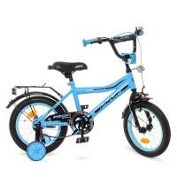 Велосипед детский двухколесный PROFI Y14104 Top Grade, 14 дюймов, голубой