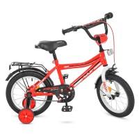 Велосипед детский двухколесный PROFI Y14105 Top Grade, 14 дюймов,красный