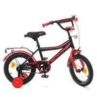 Велосипед детский двухколесный PROFI Y14107 Top Grade, 14 дюймов, черный
