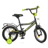 Велосипед детский двухколесный PROFI Y14108 Top Grade, 14 дюймов, серый