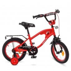 Велосипед детский двухколесный PROFI Y14181 TRAVELER, 14 дюймов, красный