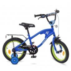 Велосипед детский двухколесный PROFI Y14182 TRAVELER, 14 дюймов, синий