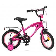 Велосипед детский двухколесный PROFI Y14183 TRAVELER, 14 дюймов, малиновый