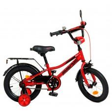 Велосипед детский двухколесный PROFI Y14221 Prime, 14 дюймов, красный