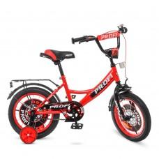 Велосипед детский двухколесный PROFI Y1446 Original boy, 14 дюймов, красно-черный