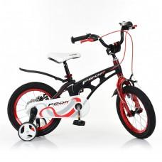 Велосипед детский двухколесный PROFI LMG14201 Infinity, 14 дюймов, красно-черный