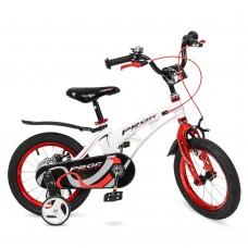 Велосипед детский двухколесный PROFI LMG14202 Infinity, 14 дюймов, красно-белый