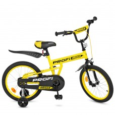 Велосипед детский двухколесный PROFI L16111 Driver, 16 дюймов, желтый