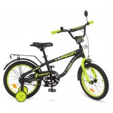 Велосипед детский двухколесный PROFI T16152 Space, 16 дюймов, черный