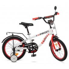 Велосипед детский двухколесный PROFI T16154 Space, 16 дюймов, белый