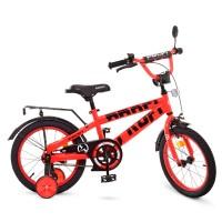 Велосипед детский двухколесный PROFI T16171 Flash, 16 дюймов, красный
