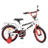 Велосипед детский двухколесный PROFI T16172 Flash, 16 дюймов, синий