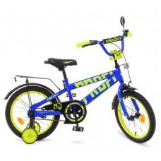 Велосипед детский двухколесный PROFI T16175 Flash, 16 дюймов, синий
