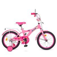 Велосипед детский двухколесный для девочек PROFI T1661 Original girl, 16 дюймов, розовый