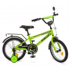 Велосипед детский двухколесный PROFI T1672 Forward, 16 дюймов, салатовый