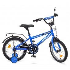 Велосипед детский двухколесный PROFI T1673 Forward, 16 дюймов, синий