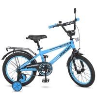 Велосипед детский двухколесный PROFI T1674 Forward, 16 дюймов, голубой