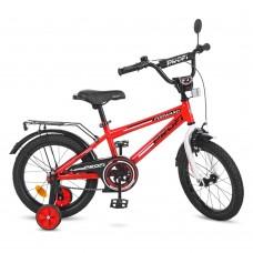 Велосипед детский двухколесный PROFI T1675 Forward, 16 дюймов, красный