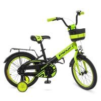 Велосипед детский двухколесный PROFI W16115-6 Original, 16 дюймов, зеленый