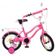 Велосипед детский двухколесный PROFI XD1692 Star, 16 дюймов, малиновый