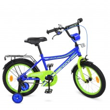 Велосипед детский двухколесный PROFI Y16103 Top Grade, 16 дюймов, синий