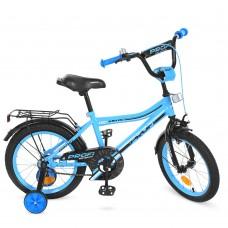 Велосипед детский двухколесный PROFI Y16104 Top Grade, 16 дюймов, бирюзовый