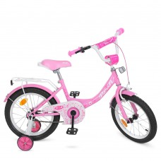 Велосипед детский двухколесный для девочек PROFI Y1611 Princess, 16 дюймов, розовый