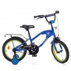 Велосипед детский двухколесный PROFI Y16182 TRAVELER, 16 дюймов, синий