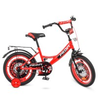 Велосипед детский двухколесный PROFI Y1646 Original boy, 16 дюймов, красный