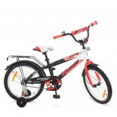 Велосипед детский двухколесный PROFI G1855 Inspirer, 18 дюймов, красно-бело-черный