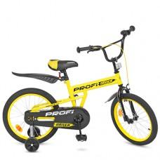 Велосипед детский двухколесный PROFI L18111 Driver, 18 дюймов, желтый
