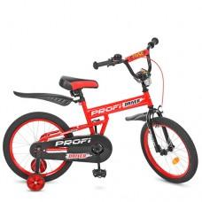 Велосипед детский двухколесный PROFI L18112 Driver, 18 дюймов, красный