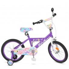 Велосипед детский двухколесный PROFI L18132 Butterfly, 18 дюймов, сиреневый