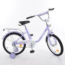 Велосипед детский двухколесный PROFI L1883 Flower, 18 дюймов, фиолетовый
