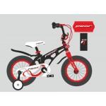 Велосипед детский двухколесный PROFI LMG18201 Infinity, 18 дюймов, красно-черный