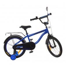 Велосипед детский двухколесный PROFI SY18153 Space, 18 дюймов, индиго