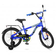 Велосипед детский двухколесный PROFI T18151 Space, 18 дюймов, синий