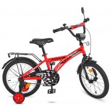 Велосипед детский двухколесный PROFI T1831 Racer, 18 дюймов, красный