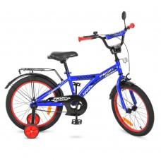 Велосипед детский двухколесный PROFI T1833 Racer, 18 дюймов, синий