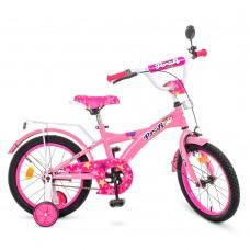 Велосипед детский двухколесный для девочек PROFI T1861 Original girl, 18 дюймов, розовый