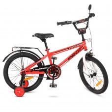 Велосипед детский двухколесный PROFI T1875 Forward, 18 дюймов, красный