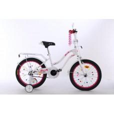 Велосипед детский двухколесный PROFI XD1894 Star, 18 дюймов, белый