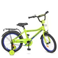 Велосипед детский двухколесный PROFI Y18102 Top Grade, 18 дюймов, салатовый